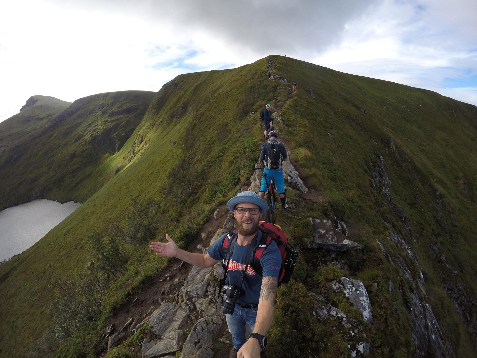 Truls guider på fjellet
