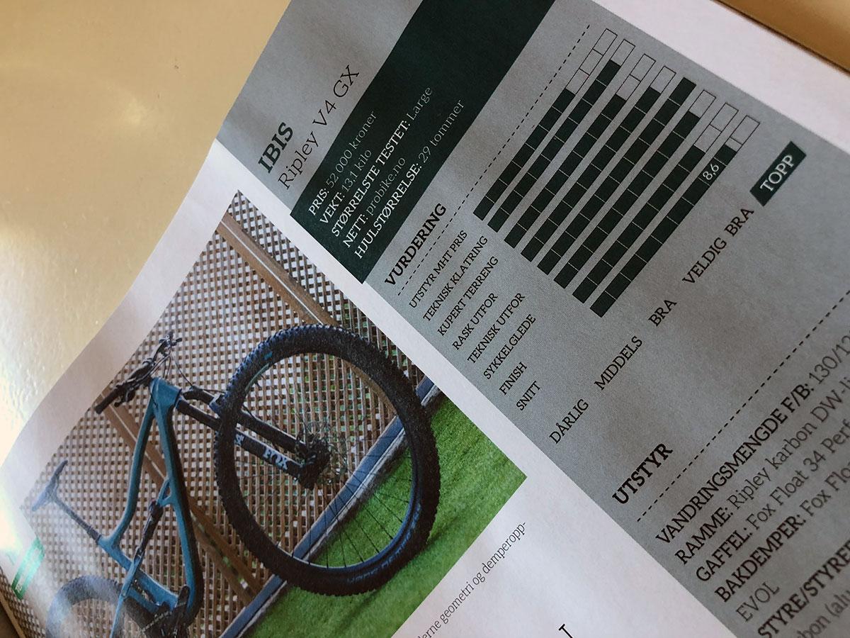 Ibis Ripley faksimile fra Terrengsykkel