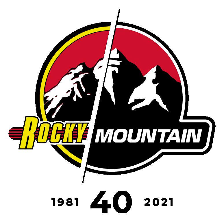 Rocky Mountain 40år logo